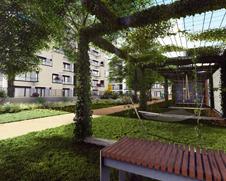 Trigema Nová Nuselská - rodinný projekt s vlastní zahradou